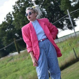 Bright Bubblegum Pink Worthington Skirt Set